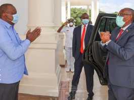 President Muse Bihi And Kenyan Leader Uhuru Kenyatta Hold Talks In Nairobi