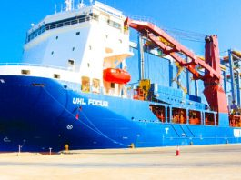 Berbera Port Receives The Second Four Liebherr RTG Cranes